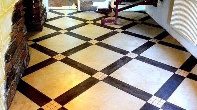 Укладка плитки по диагонали: подробная инструкция   строй советы