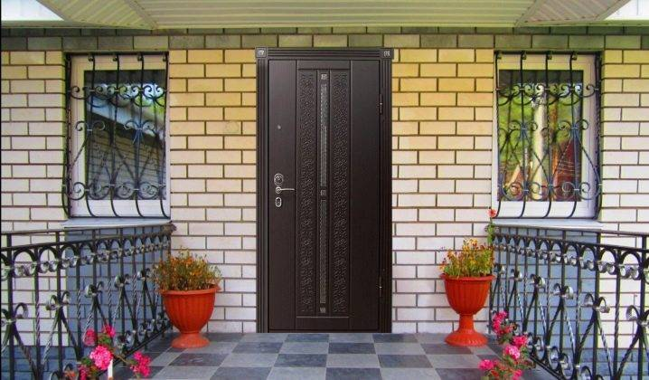 Входная дверь в частный дом (52 фото): уличные утепленные и теплые деревянные модели для коттеджа, а также морозостойкие с окном