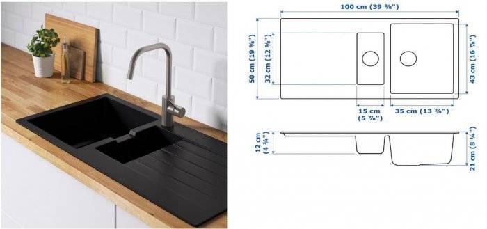Какую мойку лучше выбрать для кухни: сравнение материалов, форм и размеров, отзывы специалистов