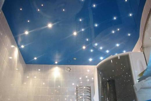 Наилучшие отделочные материалы для потолка в туалете