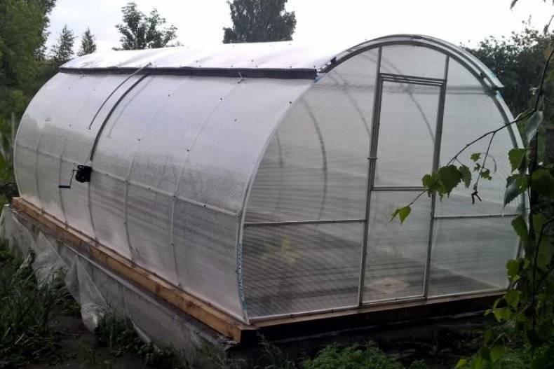 Раздвижная крыша для теплицы из поликарбоната своими руками: видео инструкция