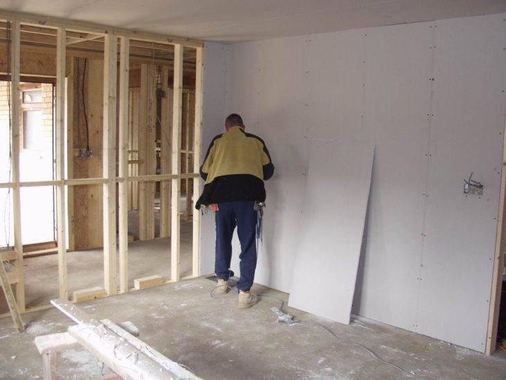 Выравнивание стен в ванной под плитку: штукатуркой или гипсокартоном (видео)