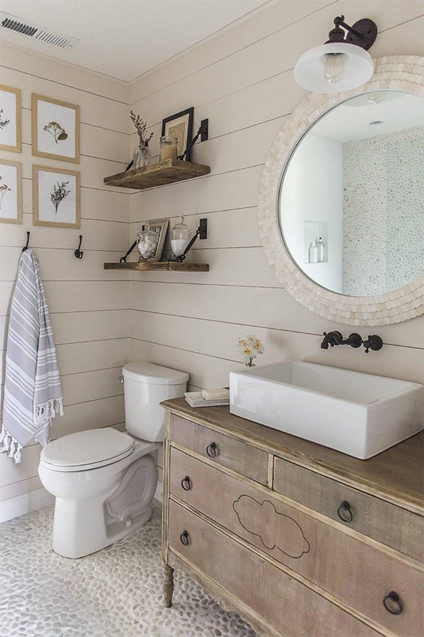 Ванная комната в стиле прованс: простота и романтизм французской провинции