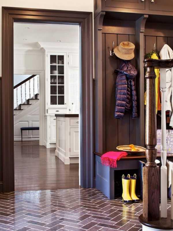 Плитка на пол в коридор (65 фото): керамические напольные изделия для прихожей, кафель и ламинат, что лучше выбрать для создания эффектного дизайна