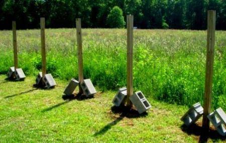 Как забетонировать столбы для забора - всё о воротах и заборе