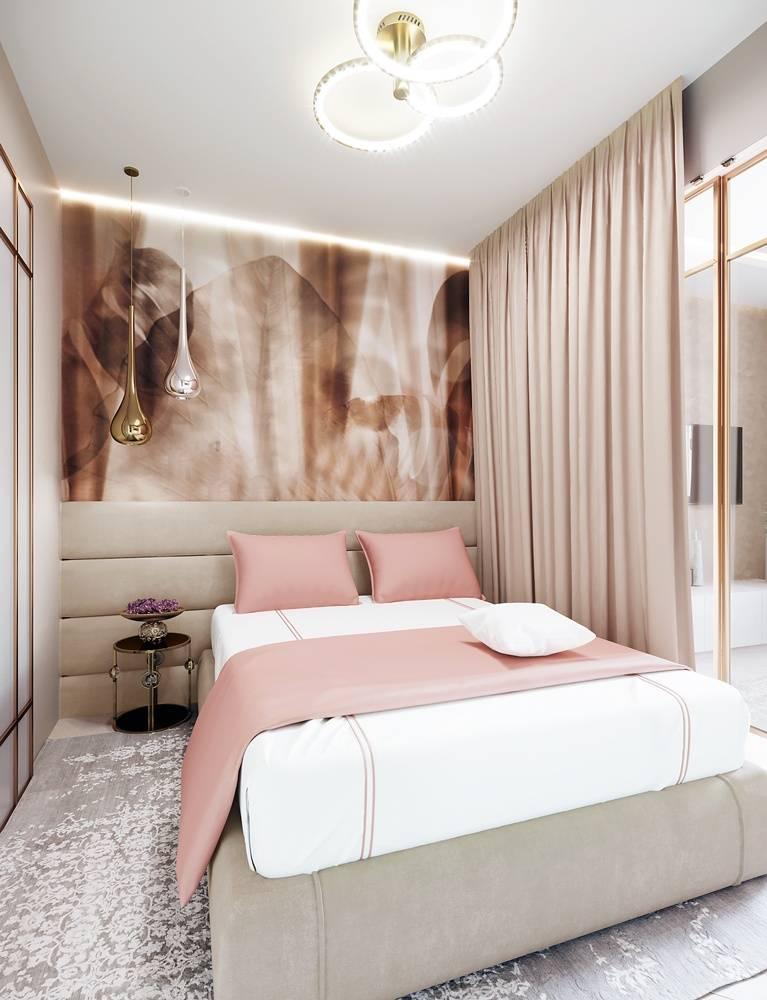 Как обустроить спальню в хрущевке: реальные фото в интерьере