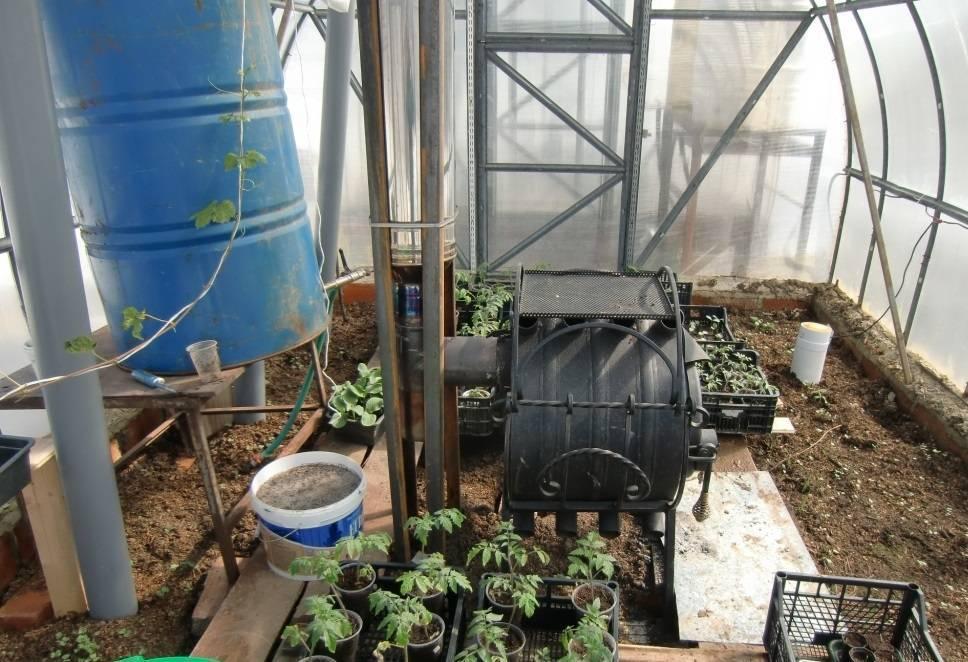 Отопление теплицы: самые лучшие проекты обогрева своими руками зимой и весной, подогрев теплицы с помощью тёплого пола и водяного котла