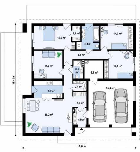 Топ-10 проектов гаражей на 2 машины