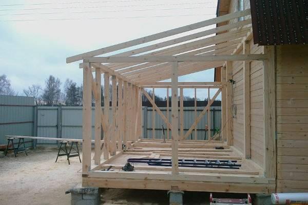 Пристройка к деревянному дому: из чего и как сделать | строй советы