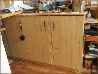 Кухня своими руками из мебельных щитов: пошаговая инструкция