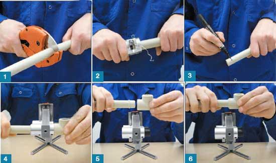 Пайка полипропиленовых труб: как правильно паять, сварка своими руками, инструкция по монтажу для начинающих