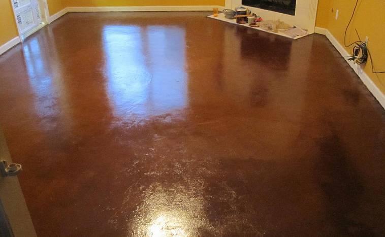 Чем обработать бетонный пол от пыли | советы по ремонту
