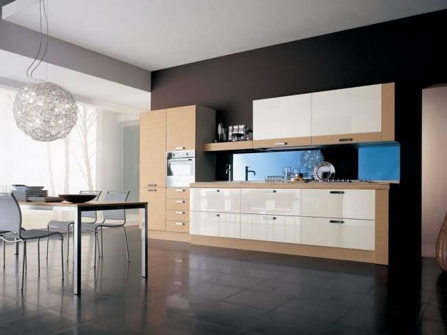 Дизайн кухни в стиле минимализм: особенности оформления, выбор цветовой гаммы (реальные фото)
