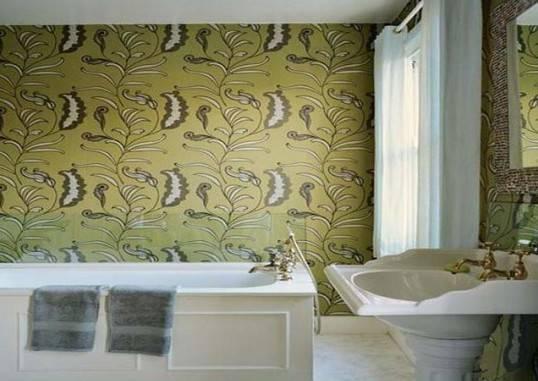 Самоклеющиеся обои для ванной (пленка) — виды и дизайн (фото, видео)
