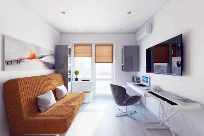 """75 идей дизайна для двухкомнатной квартиры серии 44т """"распашонка"""""""
