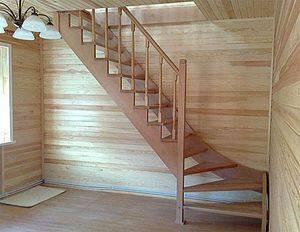 Удобные лестницы на мансарду в доме: виды конструкций