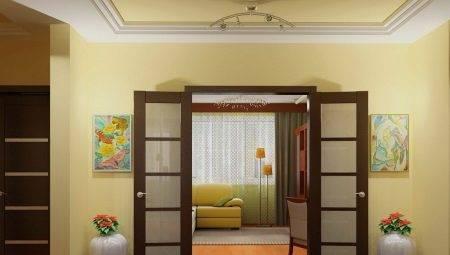 Как выбрать дверь в зал: особенности и рекомендации (27 фото)