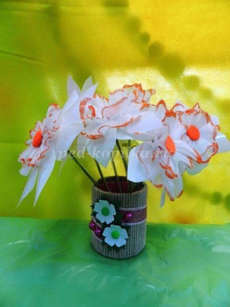 Как сделать цветы своими руками: мастер-класс изготовления из подручных материалов. пошаговое описание создания цветов (105 фото и видео)