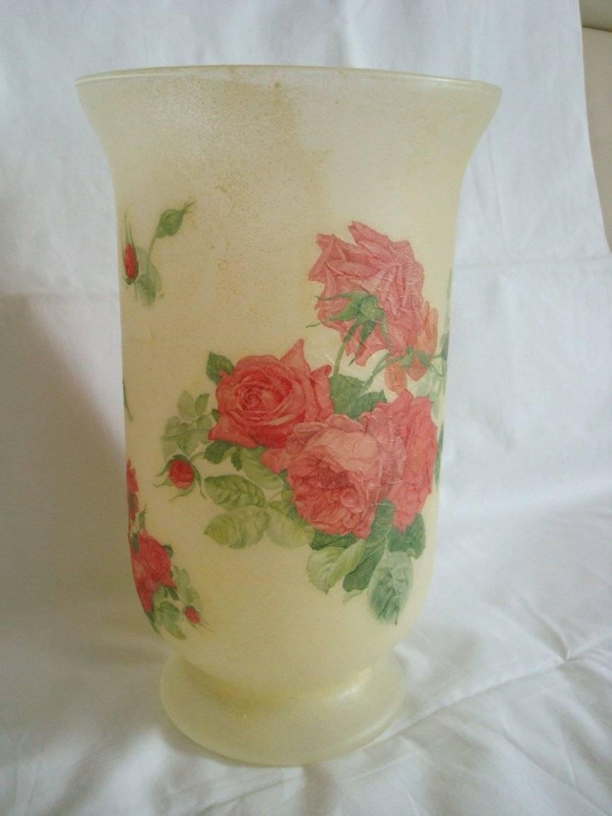 Декупаж вазы: стилевые направления и тонкости оформления