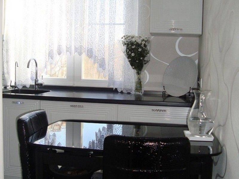 Стол для кухни: разновидности, выбор цвета, реальные фото примеры