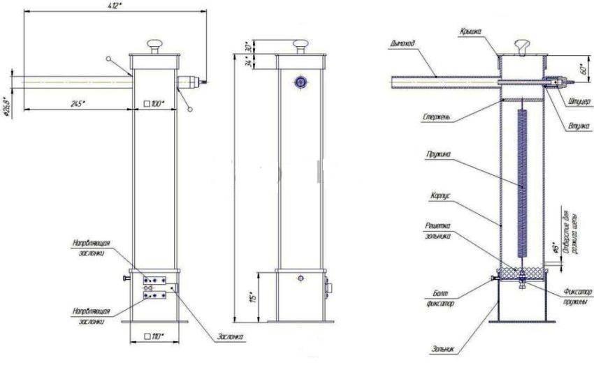 Дымогенератор для холодного копчения своими руками: виды, чертежи и схемы