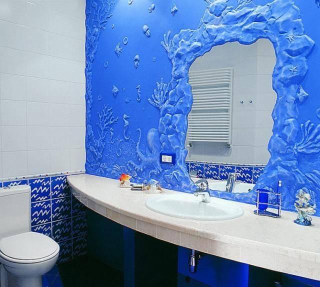 Венецианская штукатурка в ванной: можно ли использовать, подготовка стен