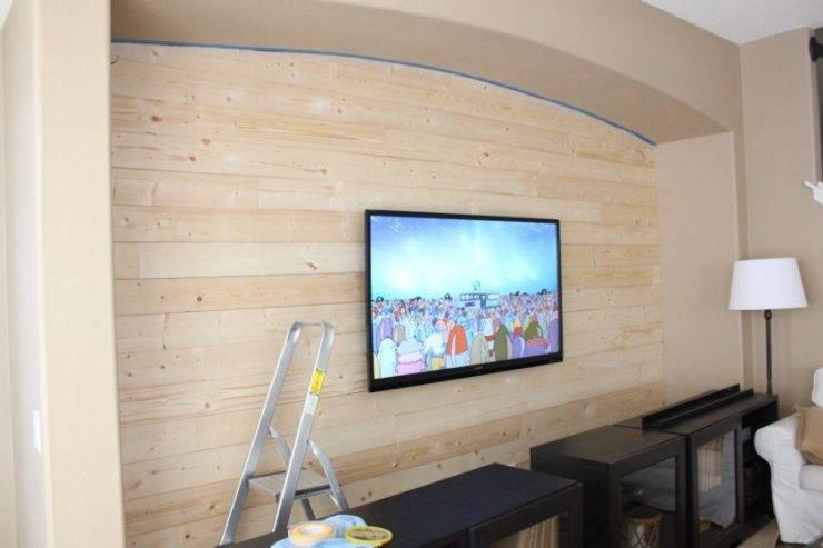 Ниша под телевизор из гипсокартона (63 фото): идеи размещения в современном интерьере, портал или стенка под тв, как своими руками сделать стенку под монитор