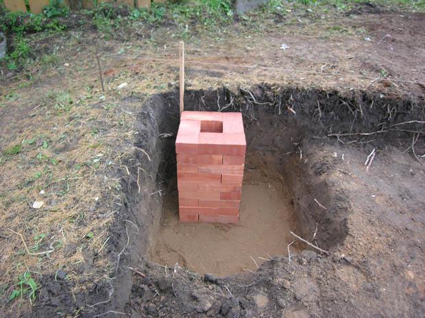 Как сделать фундамент из блоков фбс