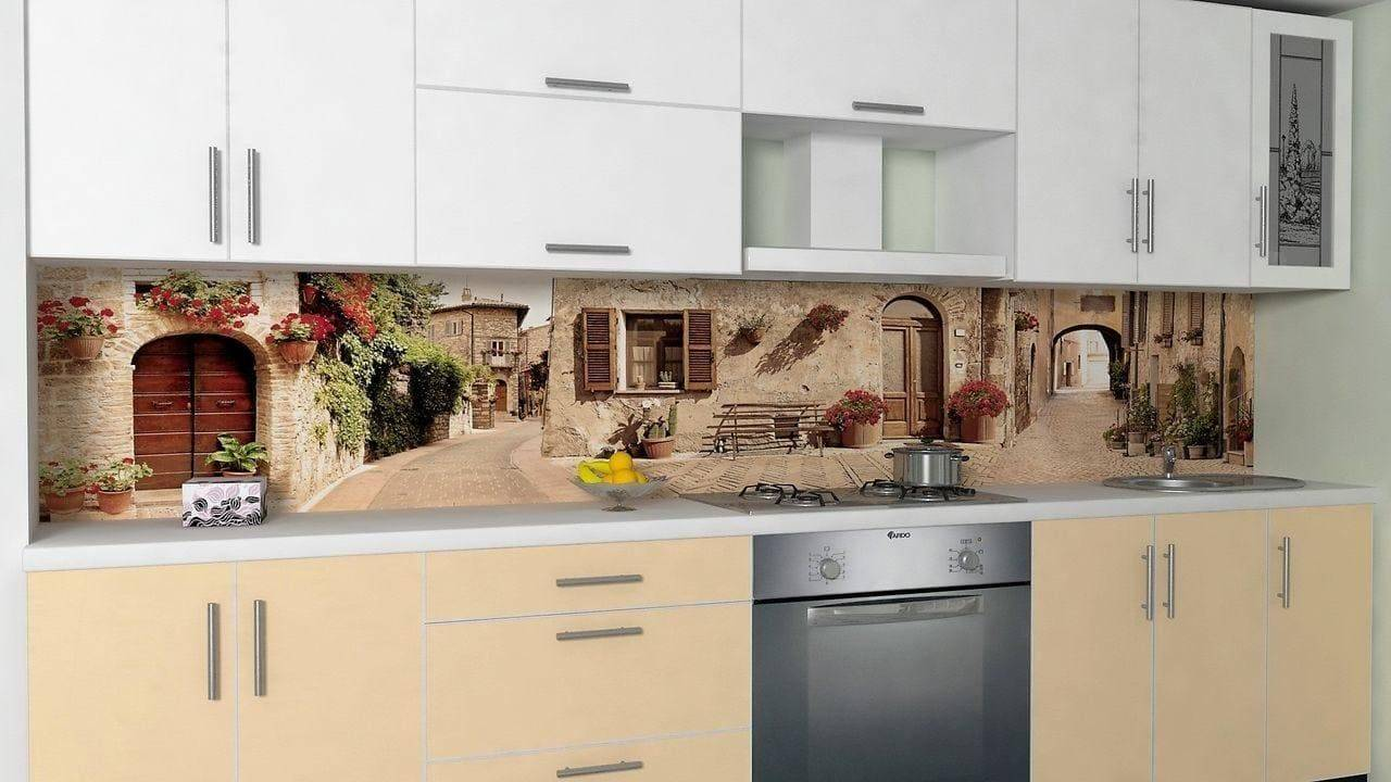 Стеновые панели для кухни (92 фото): кухонная отделка на стены под плитку, настенные акриловые модели