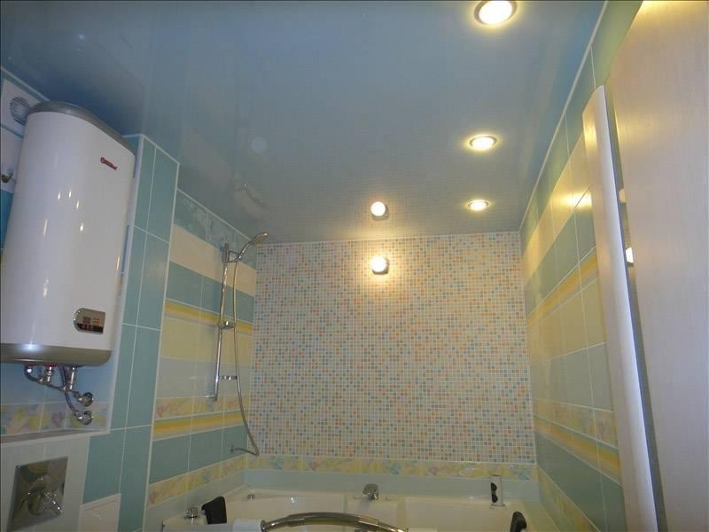 Натяжной потолок для туалета заказать в челябинске