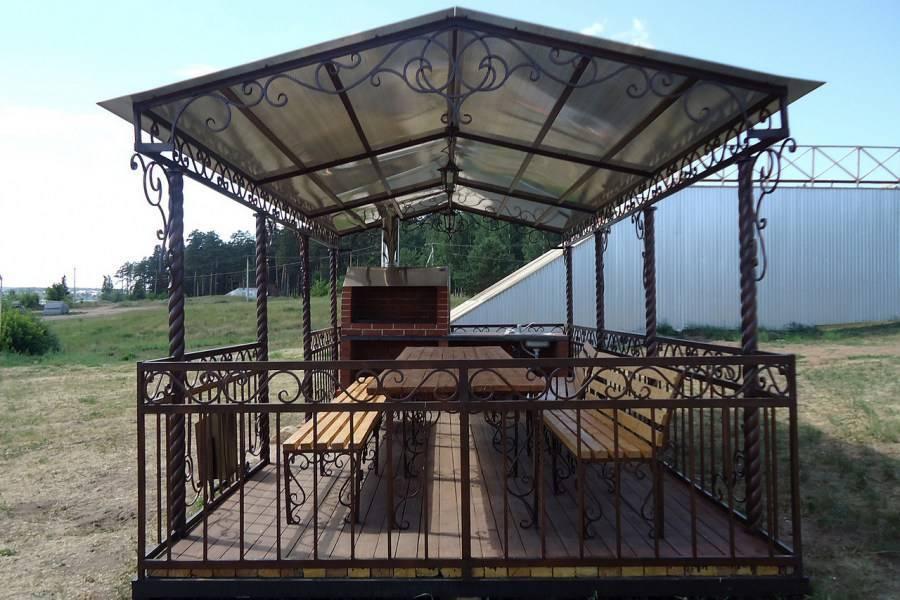 Беседка для дачи с барбекю и мангалом (55 фото): дачные веранды с печью, красивые модели из дерева и кирпича, закрытые и открытые варианты