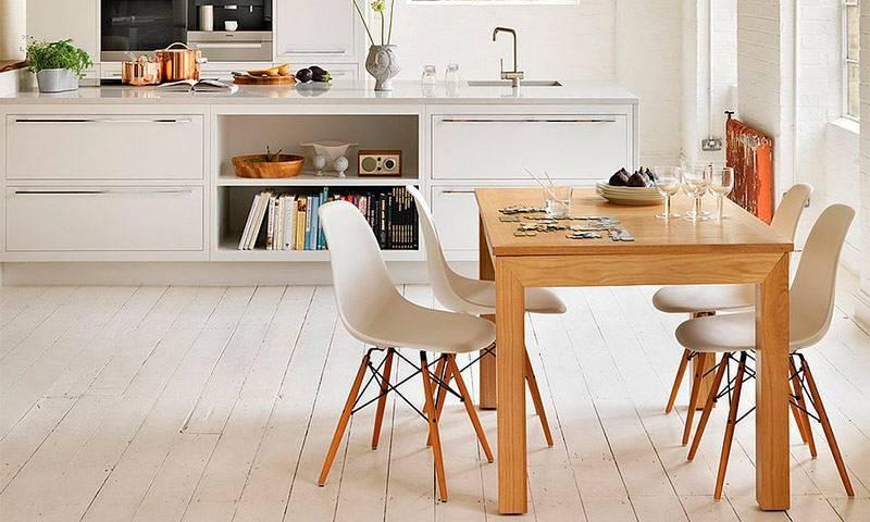 Дизайн кухни в скандинавском стиле, оформление, фото – rehouz