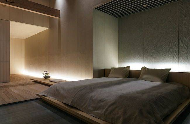 Спальни минимализм: 95 фото оптимального дизайнерского решения атмосферы тишины