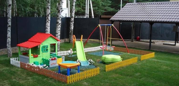 Детская площадка своими руками: пошаговая инструкция от проектирования до постройки детской площадки (155 фото + видео)