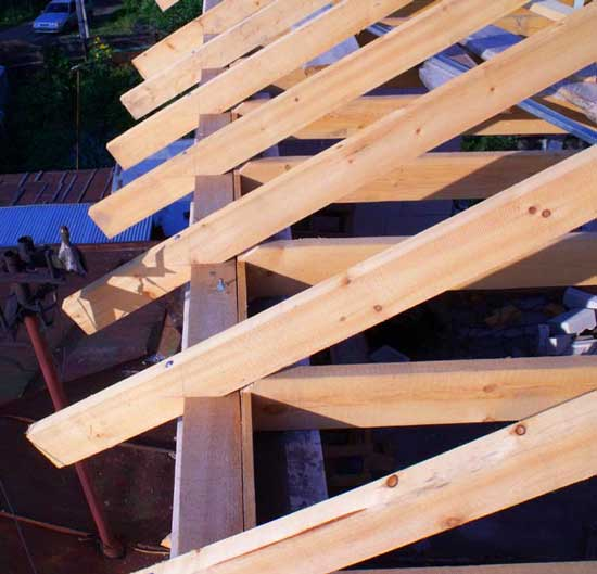 Мауэрлат для разных видов крыш: установка и крепление стропил