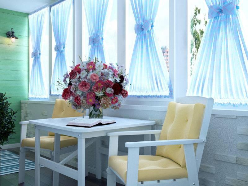 Шторы на балкон: 120 фото, особенности выбора и правила применения штор