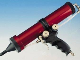Монтажный пистолет для герметика, как пользоваться: видео инструкция