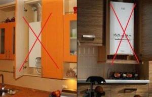 Советы дизайнеров: как спрятать газовую колонку и практично оформить интерьер маленькой кухни | всёокухне.ру
