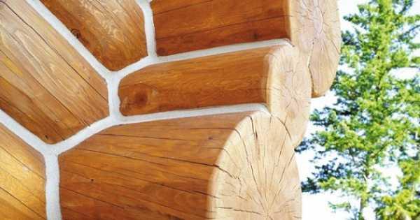 Как выполняется герметизация швов деревянного дома?