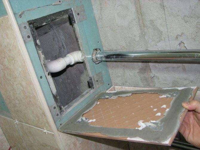 Ревизионный люк под плитку, как своими руками сделать скрытый люк под плитку и установить его