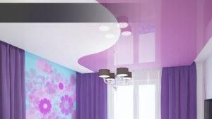 Как выбрать цвет натяжного потолка - советы