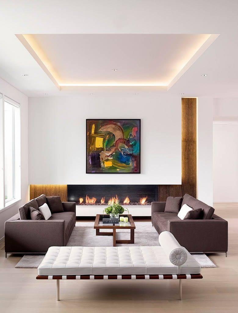 Натяжные двухуровневые потолки - особенности подбора и взаимодействия с интерьером