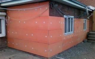 Чем крепить пеноплекс к стене из кирпича -