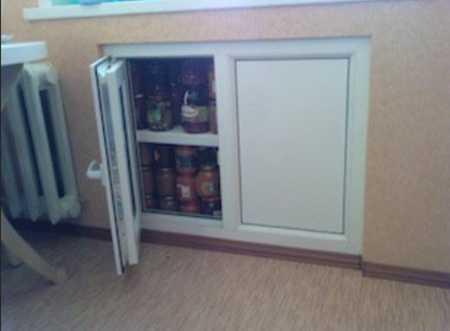 Хрущевский холодильник. как сделать холодильник под окном. изготовление и модернизация хрущевского холодильника. что такое хрущевский холодильник. как сделать хрущевский холодильник под окном своими руками.информационный строительный сайт |