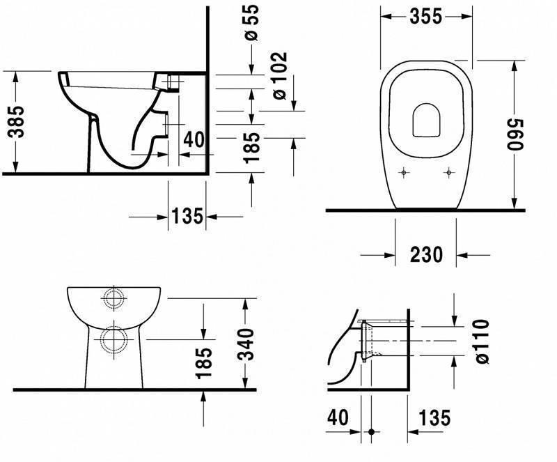 Ширина холодильника - стандартная и другие размеры моделей агрегатов для дизайна кухни