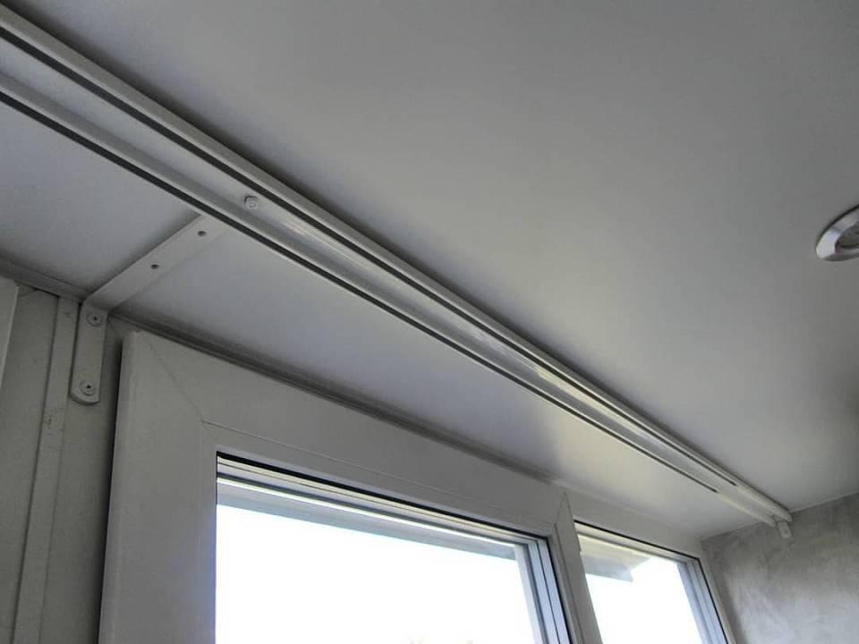 Потолочная гардина для штор: как повесить на потолок, как вешать, как крепить к потолку, как установить, установка и крепление