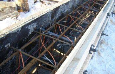 Прогрев бетона электродами (в зимнее время): технология, схема подключения, расчет