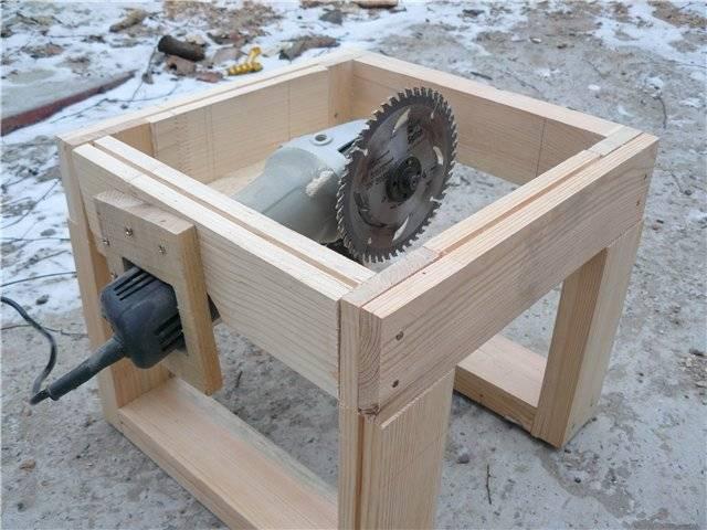 Как из болгарки сделать циркулярку своими руками - конструируем станок