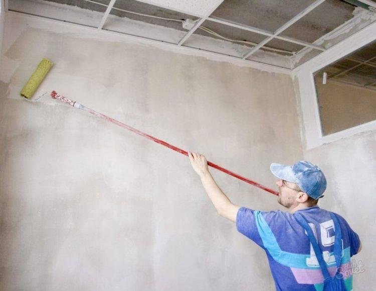 Как правильно шпаклевать стены после нанесения грунтовки?