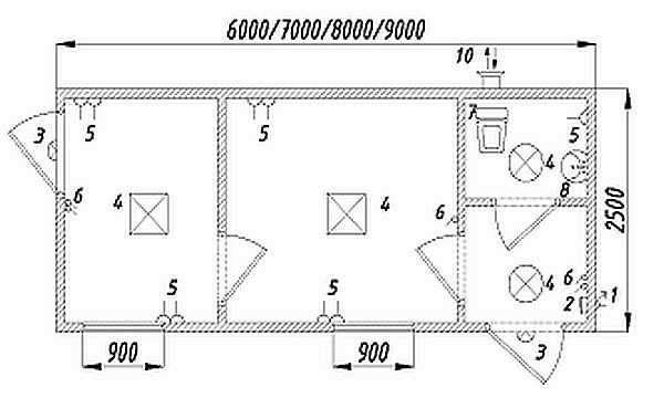 Как сделать бытовку своими руками? чертежи, список стройматериала